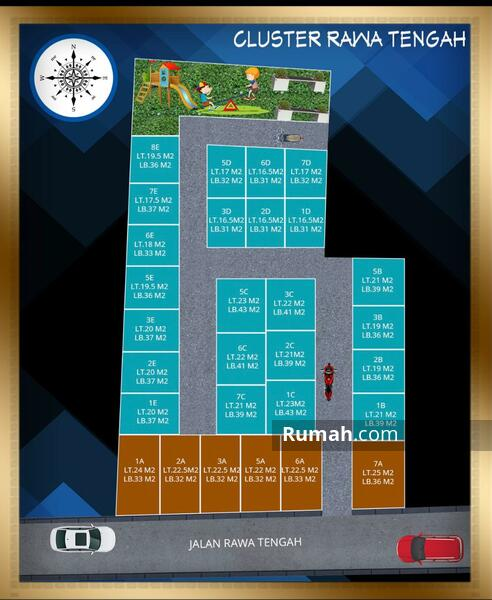 Rumah Murah Minimalis Di Pangkalan Asem, Jakarta Pusat.Harga Apartemen #106648968
