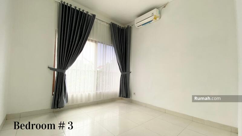 Rumah 2lt sudah renoved&semi furnished luas 9x16 type 3+1KT Cluster Cassia JGC Jakarta Garden City #106676268