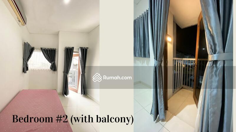 Disewakan rumah 2 lantai DALAM CLUSTER TERDEPAN SEMI FURNISH di jakarta garden city #106727346