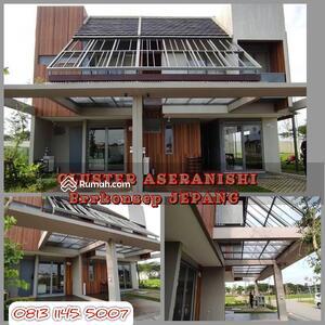 Dijual - Dijual Rumah Konsep Jepang Hatapan Indah