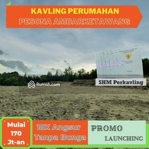 Dijual - Tanah Kavling Murah 50 Meter Dari Jalan Utama di Ambarketawang Gamping Legalitas SHM