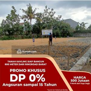 Dijual - BISA KREDIT HINGGA 15 Tahun DP 0%: Tanah Kavling Dalam Ring Road Jogja