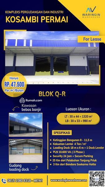 Kosambi Permai Blok Q-R #106983124