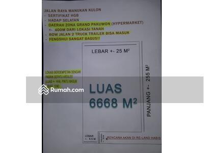 Dijual - Tanah Dijual Raya Manukan Kulon Surabaya KT
