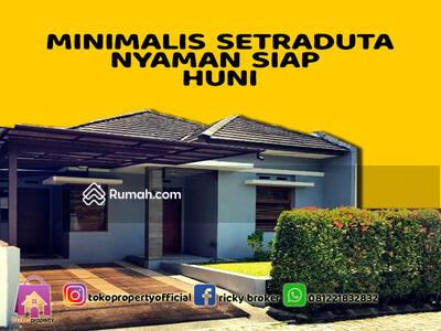 Dijual - RK 51 DIJUAL RUMAH MINIMALIS SETRADUTA Harga 1, 65M