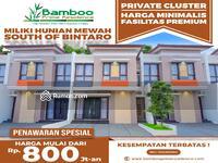 Dijual - Rumah Nuansa Bali Modern Fasilitas Premium Sejuk Dan Rapih