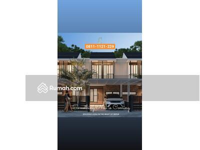 Dijual - Dijual Rumah Baru DP 0% di Kemang Raya Depok dekat Tole Iskandar dan GDC Depok