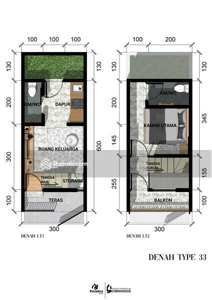 TownHouse ALA Scandinavian Harga Super Ekonomis Lokasi 5 Menit Ke Gerbang Tol Cimanggis #107163218