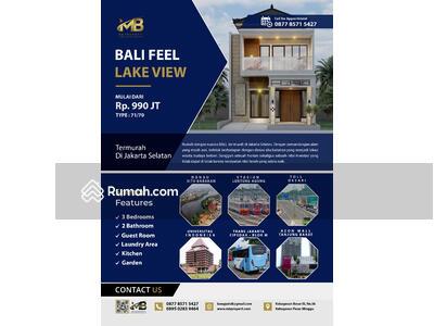 Dijual - Rumah Pinggir Danau Setu Babakan, Dekat Pintu TOL, Stasiun Kereta Api, RS, Universitas