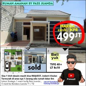 Dijual - rumah murah sidoarjo, rumah amanah by pass juanda
