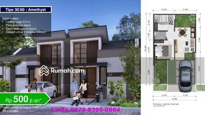 Dijual - SAMIRA REGENCY BEKASI, SMART HOME, 500 JT-AN, PROMO FREE BPHTB. SUB BIAYA KPR & DP, WOWSIDI,