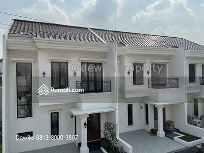 Dijual - Rumah Baru Mediterania di Jatimakmur Pondok Gede Bekasi Jawa Barat