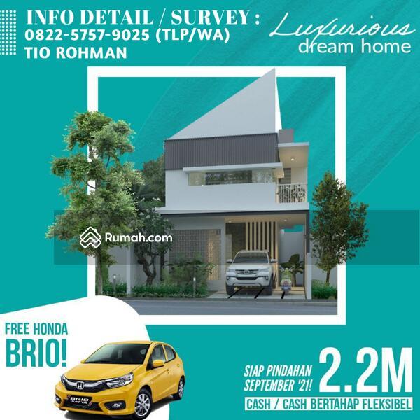 Dijual Cepat Rumah Baru 2 Lantai Strategis Dekat SMA Al-Hikmah dan Masjid Agung SHM IMB #108902460