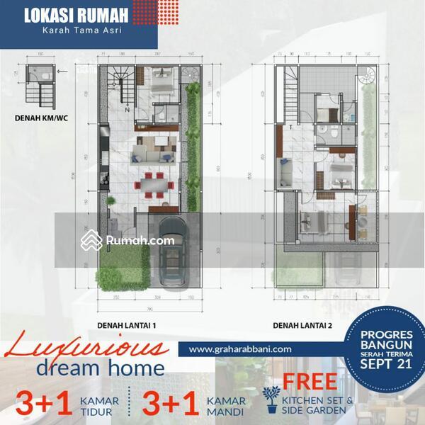 Dijual Cepat Rumah Baru 2 Lantai Strategis Dekat SMA Al-Hikmah dan Masjid Agung SHM IMB #108902480