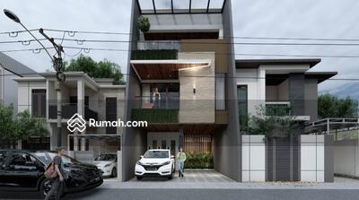 Dijual - Dodi Realty, Rumah Keren Desain Minimalis Plus Kolam Renang Lokasi Aman Tenang Nyaman Rawamangun