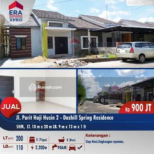 Dijual - Rumah Baru dan Termurah di kelasnya - Paris 2 Komp. Dazhiil Spring, Pontianak