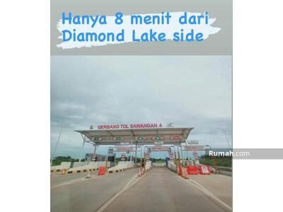 Dijual - DIAMOND LAKESIDE 8 Menit Exit Gerbang Tol Sawangan 4