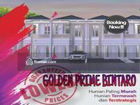 Dijual - Golden Prime Bintaro Bagunan Baru Full Bata Merah 2 Lantai
