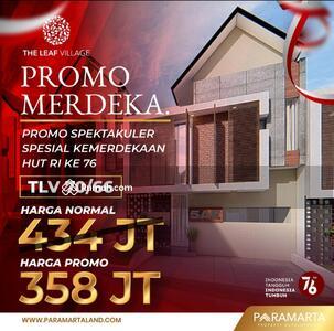 Dijual - Promo Rumah 2 Lantai di Kota Malang