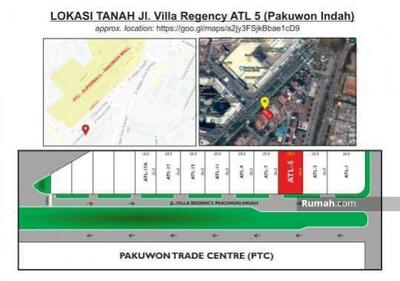 Dijual - Dijual Tanah Villa Regency jalan kembar pakuwon indah Surabaya
