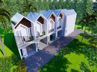 "Dijual - Rumah murah Surabaya Timur , "" Green Riviera. "" Design 2 lantai."