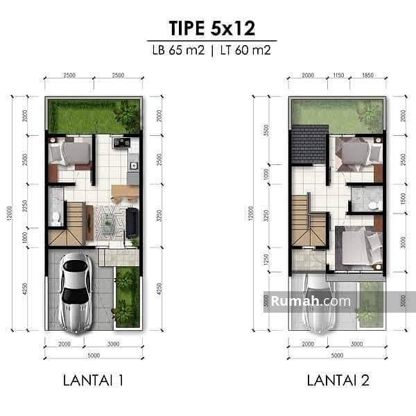 Rumah modern Milenial di Bintaro dekat stasiun #107696050
