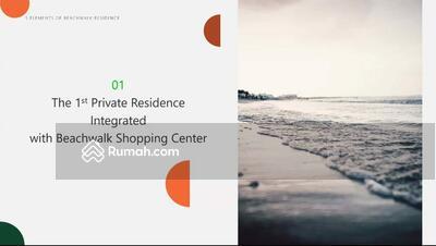 Dijual - Beachwalk Kuta Apartment