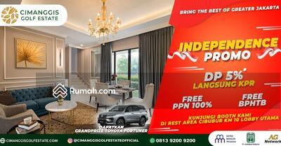 Dijual - Di Jual Rumah Mewah 1 M an di dalam kawasan Golf , Diskon Ratusan Juta , Free PPN ! !