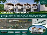 Dijual - Rungkut Surabaya | Rumah Minimalis Modern Murah 2 Lt Di Medokan Sawah Baru Dekat UPN MERR Rivera