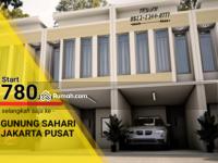 Dijual - Townhouse Gunung Sahari Utara, Sawah Besar Jakarta Pusat