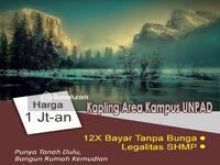 Dijual - 5 Menit Dari Kampus UNPAD Sumedang Kavling Jatinangor Indah