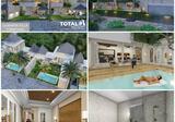 Dijual Villa Residence di area Canggu, Bali.