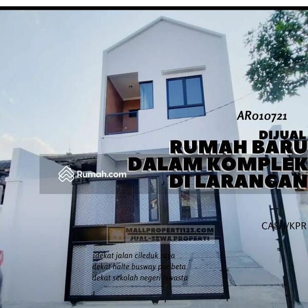 rumah baru single house dalam komplek,dekat halte busway Puribeta di Larangan tangerang #107790356