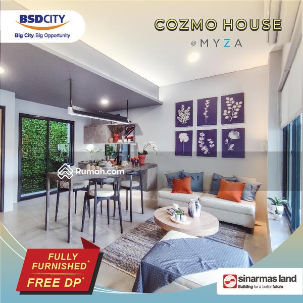 Myza BSD Rumah Full Furnished Tanpa DP disebelah AEON Mall #107807394