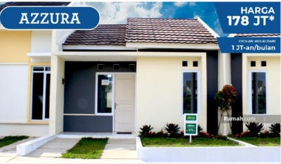 Dijual - Perumahan Daru Raya Tangerang - Rumah Subsidi Cicilan 1 Jt