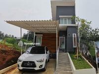 Dijual - Rumah Di Cilebut 2 kamar dgn desain mezzanine fasilitas taman bermain anak dekat stasiun cilebut