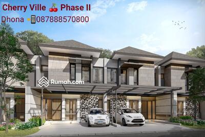 Dijual - Rumah Cherry Ville tahap 2 - Modern Tropical design home