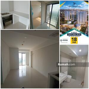 Dijual - Apartemen Daan Mogot city 2br tower Albatross lantai 19 unfurnished Jakarta barat