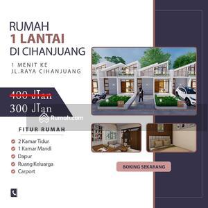 Dijual - Spesial Promo Rumah Di Cihanjuang 300 Jt-an Di Kawasan Padat Perumahan