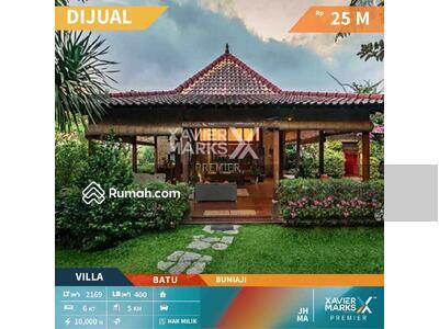 Dijual - Dijual Villa Artistic Berkualitas Premium di Bumiaji kota Batu