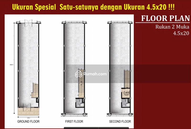 JUAL MURAH RUKO OSAKA BOULEVARD 2 MUKA 4,5x20 OVER KREDIT #108306380