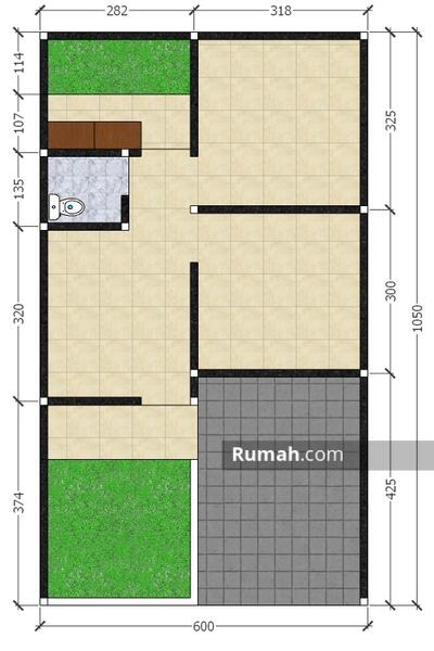 Rumah baru tanpa perantara bank view kota bandung lokasi di kawasan cileunyi #108371252