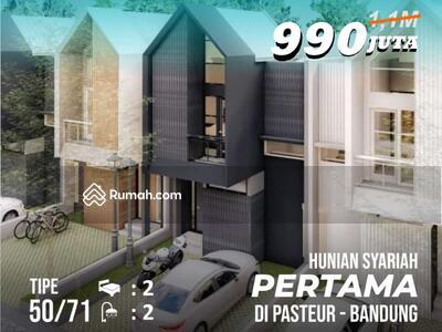 Dijual - Miliki Rumah Exclusive Custom Design, di Kawasan Impian ummat Muslim, di ujung Barat Kota Bandung