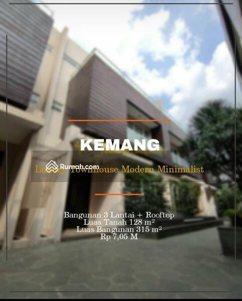 Rumah dijual di Kemang #108456772