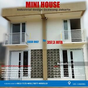 Dijual - Mini house 2 lantai cawang uki kota jakarta timur cocok untuk pasangan muda millenial