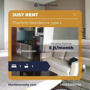 Disewa - Thamrin Residences