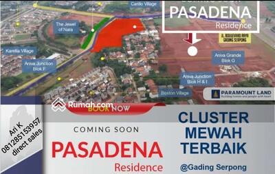 Dijual - Pasadena residences gading serpong