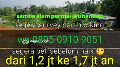 Dijual - (harga 106jt) Dijual murah tanah kavling dekat Bandung kota