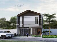 Dijual - Rumah 2 lantai Modern di Ciampea Bogor bf 2 jt lengakap dgn kolam renang anak dan taman bermain