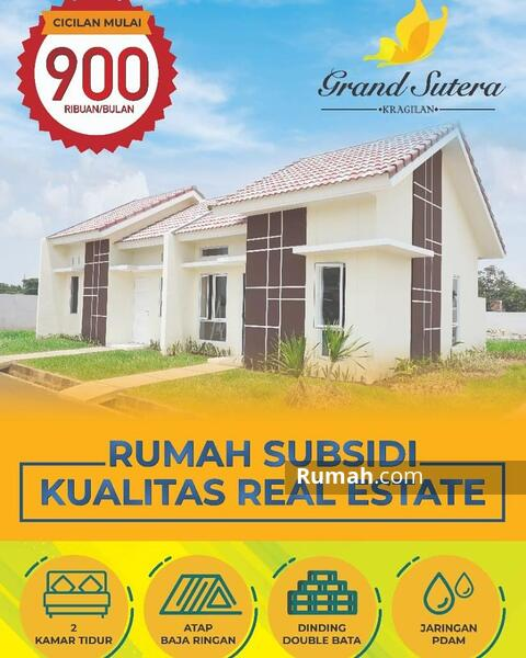 Rumah Subsidi Kualitas Realestate : 900Rb/bulan Flat - 1Jt All in sampai akad, Mas Group Developer #108928852